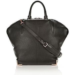 💕ALEXANDER WANG Emile Prisma Leather Tote